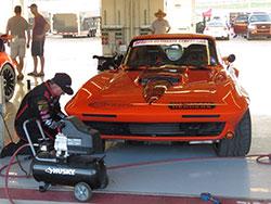 Greg Thurmond's 1965 Candy Tangerine Corvette