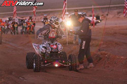After winning the Vegas to Reno race the pressure was off David Scott and he just went out and enjoyed the moment