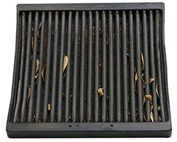 K&N recommends servicing its cabin air filters every 12,000 miles or more often for allergy sufferers, those with breathing difficulties, or vehicles in dirtier than normal environments