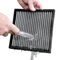 Step 2: Rinse Air Filter