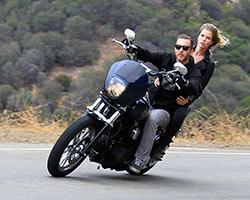 Lance Coury started Thrashin Supply a Harley-Davidson parts brand