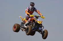 Cam Reimers will be back and ready for action in 2013 on his Can-Am ATV
