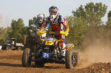 After a major set back in the beginning of the 2012 AMA ATV race season, Cam Reimers, once again began his steady climb toward the podium
