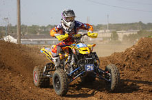 AMA ATV rider Cam Reimers has the ability to over come adversity
