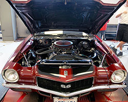 The performance of first or second generation Camaro models can be improved with K&N custom air cleaner