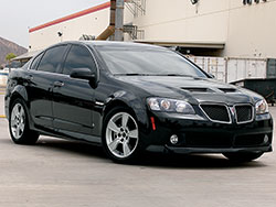 Pontiac was back at it again in 2008 with the Holden Commodore called the Pontiac G8