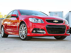 The Holden VF Commodore, known as the Chevrolet SS in the U.S.