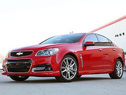 2015 model year Chevrolet SS