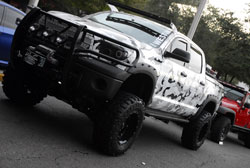 This K&N equipped 2011 Toyota Tundra was proven to be SEMA material for 2012
