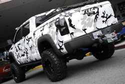 This 2011 Toyota Tundra received much attention at the 2012 SEMA Show