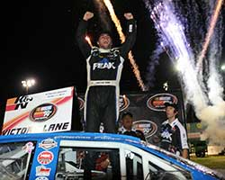 The Peak Stock Car Dream Challenge is truly making dreams come true as Christian PaHud is the third Peak contest driver to win in the number 99 Bill McAnally Racing (BMR) Toyota Camry