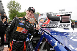 Austin Cindric wins pole and race in his NASCAR K&N Pro Series East debut at Virginia International Raceway