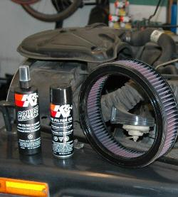 K&N Recharger Kit and My Jeep CJ7