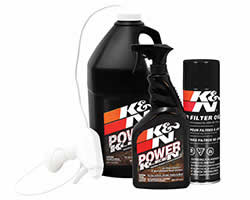 K&N Air Filter cleaning kits