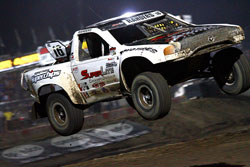 Along with the WORCS, Cody Rahders also races in the Superlite class of the Lucas Oil Off Road Series.