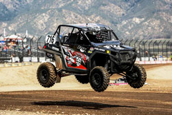 Cody Rahders recently embarked upon his first race in the XP 1000 class.