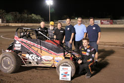 Cody Swanson managed to finish the 2012 season as the Ventura Racing Association Midget Champion