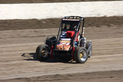 Despite the rough start Cody Swanson and his race team found a way to get a handle on the hard regulation tires