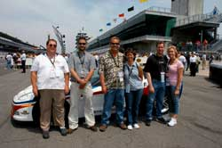 L to R: Joe Raffensburger, Nathan Hersey, and other K&N Winners