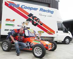 Phil Cooper of Cooper Motorsport/K&N Team