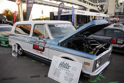 Hill's Rod and Custom's 1972 Chevy Blazer at SEMA