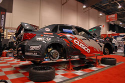 Cusco's 2012 Subaru Impreza STi showcased every product they have to offer at the SEMA Show.