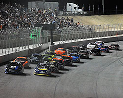 Dalton Sargeant led the first 16 laps of the NAPA Auto Parts 150 before surrendering the lead