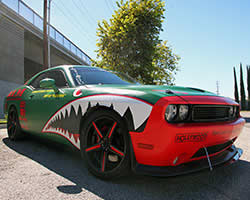 2014 Dodge Challenger RT 5.7L HEMI inspired by a P-40 Warhawk