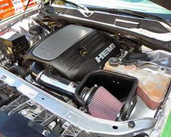 2014 Dodge Challenger R/T 5.7L HEMI, K&N Typhoon air intake system 69-2526TP