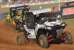 Rath added a 2nd overall in Side-by-Side's to his 2012 ATV TerraCross title