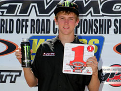 Team newcomer David Haagsma topped the Pro-Am podium in round four at Adelanto