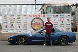 Jake Rozelle All American Class with this 2003 Z06 Corvette