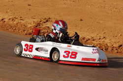 Kyle has been racing karts since he was five years old and his passion for the sport only grows with every race.