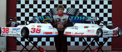 Kyle Denmyer's favorite racetrack has long been Hunterstown Speedway in Hunterstown, Pennsylvania, and now he holds the tracks 340 Briggs and Stratton Championship.