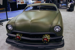 TJ Lavin's 1951 WWII themed sled caught much attention at SEMA 2012