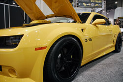 Projxauto Offers This Custom Trans Am Appearance Package Displayed at SEMA