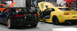 Doug Street Brought his two Z/TA Converted Camaro's for the SEMA Show