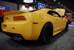 Automotive Design and Engineering Company Projxauto's Modied Camaro was Popular at SEMA