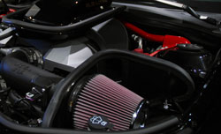 K&N Air Intake Provides Excellent Air Flow to SEMA Featured Z/TA Turbo