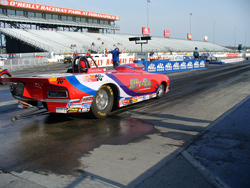 Duane Fleur drove his way to the semifinals in two of his last three races of the season