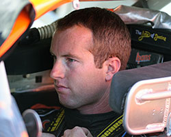 David Mayhew, a Bakersfield, California resident, felt confident going into the NASCAR K&N Pro Series West race at Kern County Raceway Park but was struck with mechanical problems