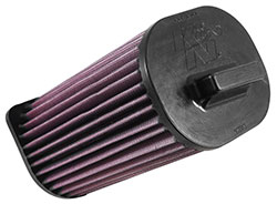 K&N E-0663 air filter is designed to fit into the factory air box and enhance airflow