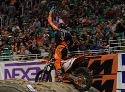 Cody Webb at Vivint Smart Home Arena in Salt Lake City, Utah