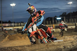 Cody Webb racing at Badlands Motor Speedway