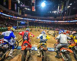EnduroCross has been described as the toughest racing on two wheels