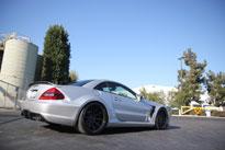 SEMA featured wide body custom redefines Mercedes SL500