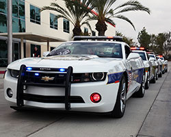 2011 Chevrolet Camaro RS models were transformed into tributes for the victims of September 11th, 2001