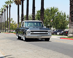 Creations N' Chrome built this 1969 Chevrolet C10 called Fine Dime to drive around the corner or to Las Vegas, Nevada
