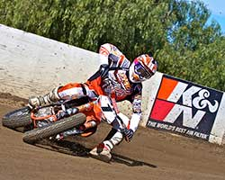 "Some of the biggest names contesting the 2014 AMA Grand National Championship racing series, like K&N sponsored rider Brad ""The Bullet"" Baker, use Perris Raceway as proving grounds"