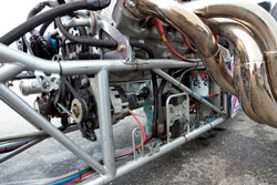 At the 16th Annual Million Dollar Race Weekend the Folk dragsters made over 65 runs each without needing a filter change.